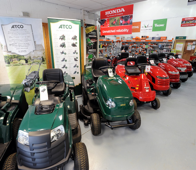 Honda lawnmowers, Viking mowers, Atco tractors, Stihl power tools, Honda garden tractors for sale Honda dealers Lancashire